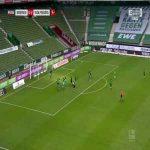 Werder Bremen [1]-2 Wolfsburg - Kevin Möhwald 45'