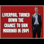 How Liverpool Nearly Signed Jose Mourinho In 2004
