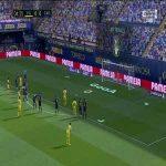 Villarreal 1-0 Cádiz - Gerard Moreno PK 5'
