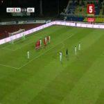Belarus 1-[1] Honduras - Alexander Lopez free-kick 45'