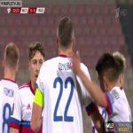 Malta 0-[1] Russia - A. Dzyuba 23'