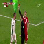 Attila Fiola (Hungary) second yellow card vs. poland (90+4')