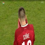 Adrian Szoke (Hungary U21) second yellow card against Romania U21 42'