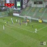 GKS Bełchatów 1-0 Odra Opole - Damian Hilbrycht 27' great strike (Polish I liga)