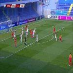 Montenegro [2]-1 Gibraltar - Marko Simić 43'