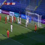 Montenegro [3]-1 Gibraltar - Žarko Tomašević 53'