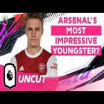 "[PL uncut - 5:21] Odegaard on which young player at Arsenal has impressed him the most: ""Obviously we have Bukayo & Emile & they are already playing so much. But I think one guy who hasn't played much lately is Martinelli. He's such a big talent, you see him in training every day & you see it"""
