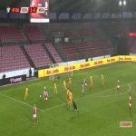 Denmark 6-0 Moldova - Kasper Dolberg 48'