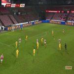Denmark 7-0 Moldova - Robert Skov 82'