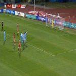 Elia Benedettini (San Marino) penalty save against Hungary 20'