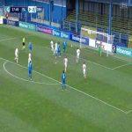 Oliver Christensen (Denmark U21) penalty save against Iceland U21 38'