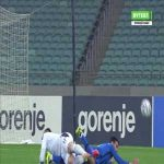 Azerbaijan [1]-1 Serbia - Emin Makhmudov penalty 60'
