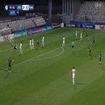 Croatia U21 [1]-2 England U21 - Domagoj Bradaric 90'+1'