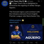 Cape Town City FC announcement today