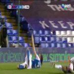 Birmingham 1-0 Swansea - Scott Hogan penalty 90'+1'