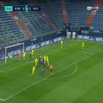 Caen 1-0 Pau FC - Alexandre Mendy 38'