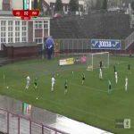 GKS Jastrzębie 0-1 Puszcza Niepołomice - Jakub Bartosz 8' bicycle kick (Polish I liga)