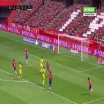 Jorge Molina (Granada) penalty miss against Villarreal 81'