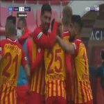 Kayserispor 1-0 Goztepe - Ilhan Parlak 26'