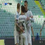 Legia Warszawa 1-0 Pogoń Szczecin - Filip Mladenović 4' (Polish Ekstraklasa)