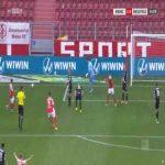 Mainz 1-0 Arminia Bielefeld - Daniel Brosinski penalty 56'