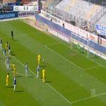 Marius Gersbeck (Karlsruhe) penalty save against Osnabruck 3'