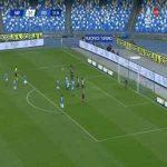 Napoli [3]-1 Crotone - Dries Mertens free-kick 34'