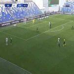 Sassuolo 1-[2] Roma - Bruno Peres 69'