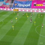 Sparta Praha 1-0 Teplice - Adam Hložek 3' (Czech First League)