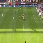 Stefan Ilsanker (Eintracht Frankfurt) disallowed goal vs. Borussia Dortmund (65')