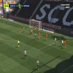 Angers 0-1 Montpellier - Stephy Mavididi 47'
