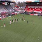 FC Emmen 1-0 Waalwijk - Nick Bakker 10'