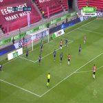 PSV 2-0 Heracles - Denzel Dumfries 21'