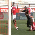 Reims 1-[1] Rennes - Sehrou Guirassy penalty 75'