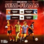 W-League 2020-21 semifinals