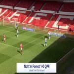 Nottingham Forest 1-0 QPR - Alex Mighten 44'