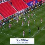 Stoke 0-1 Millwall - Murray Wallace 35'