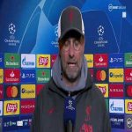 "Klopp: ""We just didn't play good enough football tonight"" On taking Naby Keita off early: ""I know it's now a big story and I don't like it... It was a tactical change. Could have done a few more changes."" 