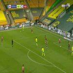 Norwich 1-0 Huddersfield - Teemu Pukki 8'