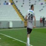 Besiktas 1-0 Alanyaspor - Cenk Tosun 11'