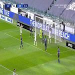 Cristiano Ronaldo (Juventus) header miss vs. Napoli (2')