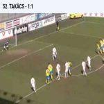 Czech Cup: FK Teplice 1 - [1] Mlada Boleslav - Takacs 52' - funny goal
