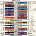 [OC] A Fixture Cheat Sheet & TV Schedule for Wednesday