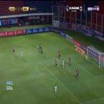San Lorenzo 0-[1] Santos - L.Braga (nice goal)