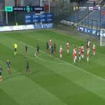 Chateauroux [1]-1 Dunkerque - Romain Grange free-kick 24'