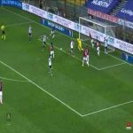 Donnarumma's double save against Parma