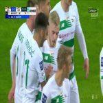 Śląsk Wrocław 1-[1] Lechia Gdańsk - Tomasz Makowski 34' (Polish Ekstraklasa)