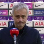 """Jose on not winning the game after leading at half time for the 7th time: """"It's a concern, I know some of the reasons. It's very hard to go into a deeper analysis with the media. I don't feel comfortable, I praise my players for the effort and Man Utd for the victory, prefer to stay like this."""""""