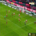 Lokomotiv Moscow 1-0 Spartak Moscow - Francois Kamano 22'