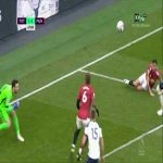 Paul Pogba back heel attempt vs Tottenham